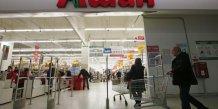 Auchan touche de plein fouet par la crise en russie
