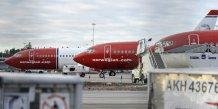 Fin de la greve des pilotes de norwegian air