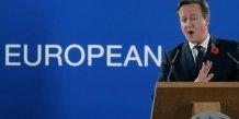 Cameron juge peu probable un referendum sur l'ue des 2015