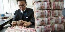 La chine veut que le yuan soit dans le panier des dts