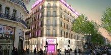 Futur hôtel 4* sur la Canebière à Marseille, réalisé par Arrelia (Fondeville)