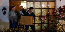 Perquisition au domicile d'Andreas Lubitz, le copilote de l'A320 de Germanwings qui s'est crashé avec 150 personnes à bord en mars 2015