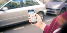Application mobile de location de voiture entre particuliers Drivy