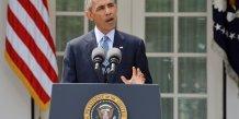 """Barack obama evoque un """"bon accord"""" conclu avec teheran sur son programme nucleaire"""