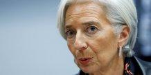 Christine lagarde craint une croissance economique mediocre