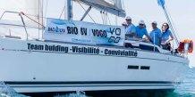 L'équipage vainqueur en 2014 : le tandem Bio UV/Vogo
