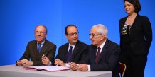 François Hollande et Martin Malvy