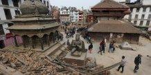 Séisme Népal 28 avril Kathmandou