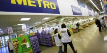 La croissance du distributeur allemand metro accelere