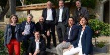 Les membres du provisoire de FrenchSouth.digital