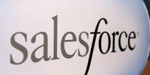 Logo de la société spécialisée dans le cloud Salesforce