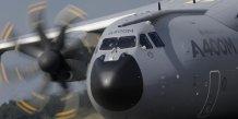 Airbus maintient un vol d'essai de l'a400m toulouse-seville