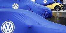 Premiere baisse des ventes de volkswagen en plus de quatre ans