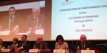 Caisse d'Epargne et CCI France : un partenariat qui renforce l'accompagnement des entreprises
