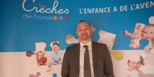 Bruno Bordessoul, P-dg de Crèches de France, prévoit de poursuivre le développement du nombre d'établissements, actuellement de 52 sur l'ensemble du territoire français.