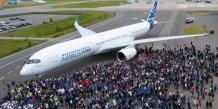 L'A350 d'Airbus sera l'un des appareils présentés lors du salon