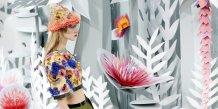 Chanel en fleurs