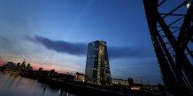 La bce releve le plafond de l'aide d'urgence aux banques grecques