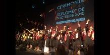 Les docteurs de la promotion Abdou Diouf, diplômés en 2015