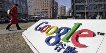 L'entreprise google en Chine
