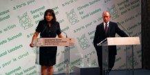 Anne Hidalgo et Michael Bloomberg