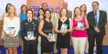 Les lauréates et les partenaires de la 3ème édition des Tribune Women's Awards Rhône-Alpes