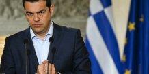 Alexis tsipras presente une nouvelle offre a angela merkel