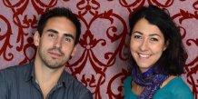 Les fondateurs de 1001Pharmacies, Cédric O'Neill et Sabine Safi