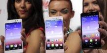 Huawei en avance sur ses objectifs dans les smartphones