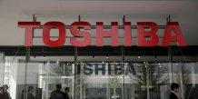Toshiba a gonfle ses profits de 1,13 milliard d'euros