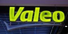 Valeo, plus forte baisse du cac 40 a la mi-seance
