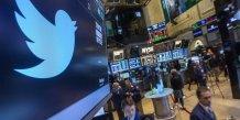 La faible hausse du nombre d'utilisateurs de twitter decoit