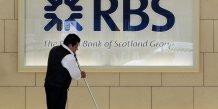 Forte moins-value pour l'etat britannique avec les titres rbs