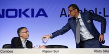 Michel Combes Rajeev Suri Alcatel-Lucent Nokia Risto Siilasmaa