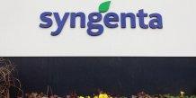 Syngenta rejette une offre de rachat de monsanto