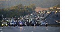 Agriculteurs en colère sur l'A10 le 3 septembre