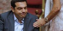 Tsipras moue