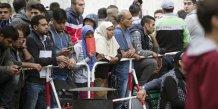L'afflux de migrants inquiete la moitie des allemands