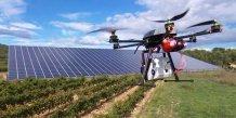 La technologie embarquée de Cyleone permet d'identifier à distance les dysfonctionnements d'une centrale solaire