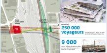 Saint-Denis Pleyel : une gare lumineuse au cœur d'un projet urbain majeur