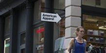 American apparel se place sous la loi sur les faillites