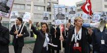 Des salariés d'Air France manifestent le 5 octobre