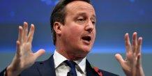 David cameron souhaiterait un referendum sur l'ue en juin