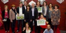 Les lauréats de la YESS Académie 2015 à Montpellier.