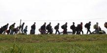 Plus de 900.000 migrants enregistres en allemagne cette annee