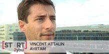 Aviitam, co-fondée par Vincent Attalin, gère les données santé de 1 000 patients à ce jour
