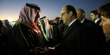 Hollande, Arabie saoudite, Riyad, François Hollande, Turki bin Abdullah al-Saud, islamisme, jihadisme, djihadisme, terrorisme, 2015.01.24,