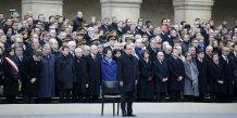 La cérémonie aux Invalides pour les victimes du 13 novembre