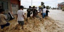 La frequence des catastrophes climatiques augmente depuis 10 ans