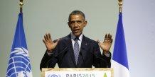 Le président des États-Unis Barack Obama le 30 novembre lors de la COP 21